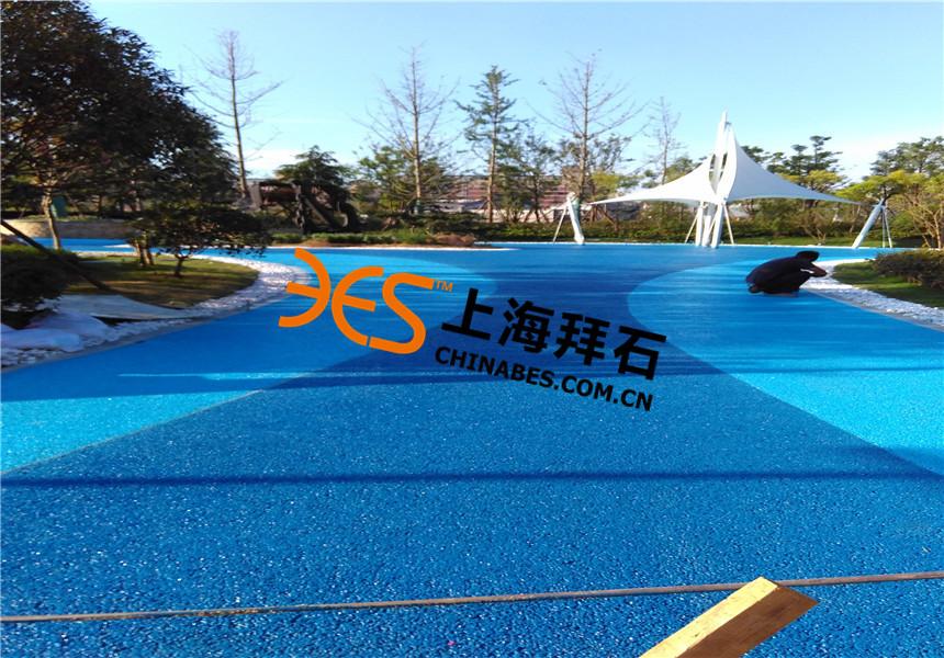 武汉园博园彩色生态透水混凝土案例
