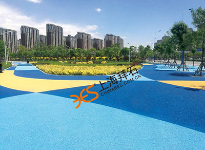 What is the role of Shanghai permeable concrete cement?