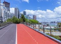 Shanghai colored permeable asphalt
