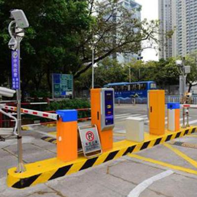 停车场车辆识别道闸系统