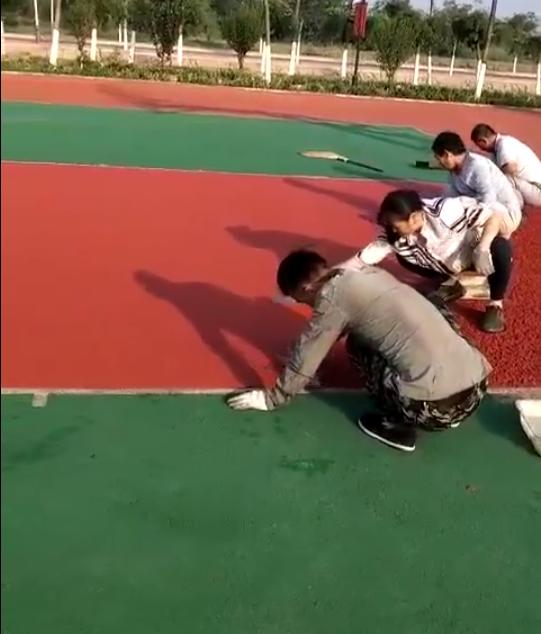 球场施工视频
