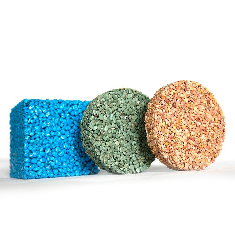 園林彩色透水膠粘石