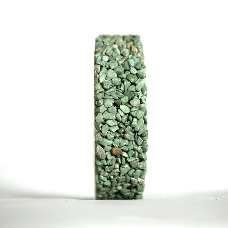 人行道生態透水膠粘石