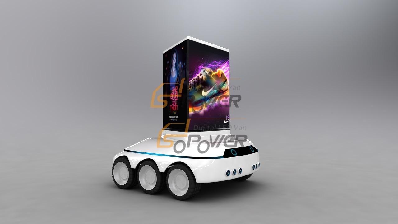 智能巡航LED广告车