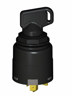 Keya 防水點火開關 477020.I/V 五檔 IP65 帶預熱 大電流