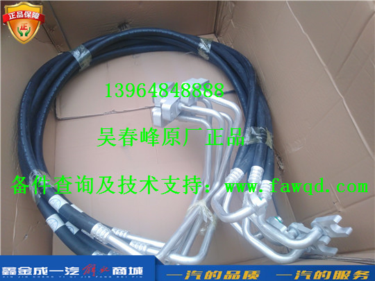 8108060-DY008 青岛一汽解放天V 压缩机挠性低压管