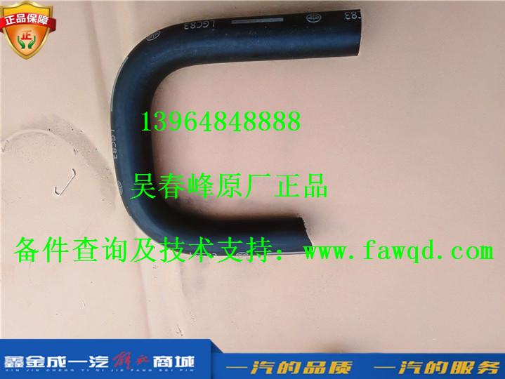 1602096-D539E/A青岛一汽解放大王驾到  散热器总泵软管