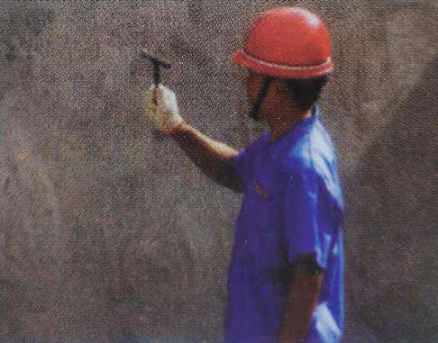 1.岩棉夹心板-空鼓检查