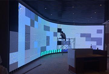 LED显示屏系统是由什么组成的?
