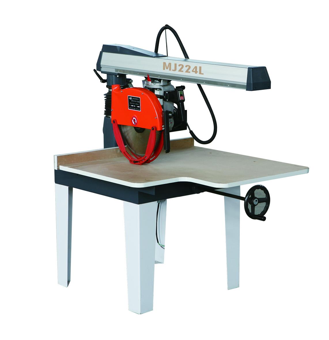 MJ223L MJ224L 摇臂式万能木机圆锯机