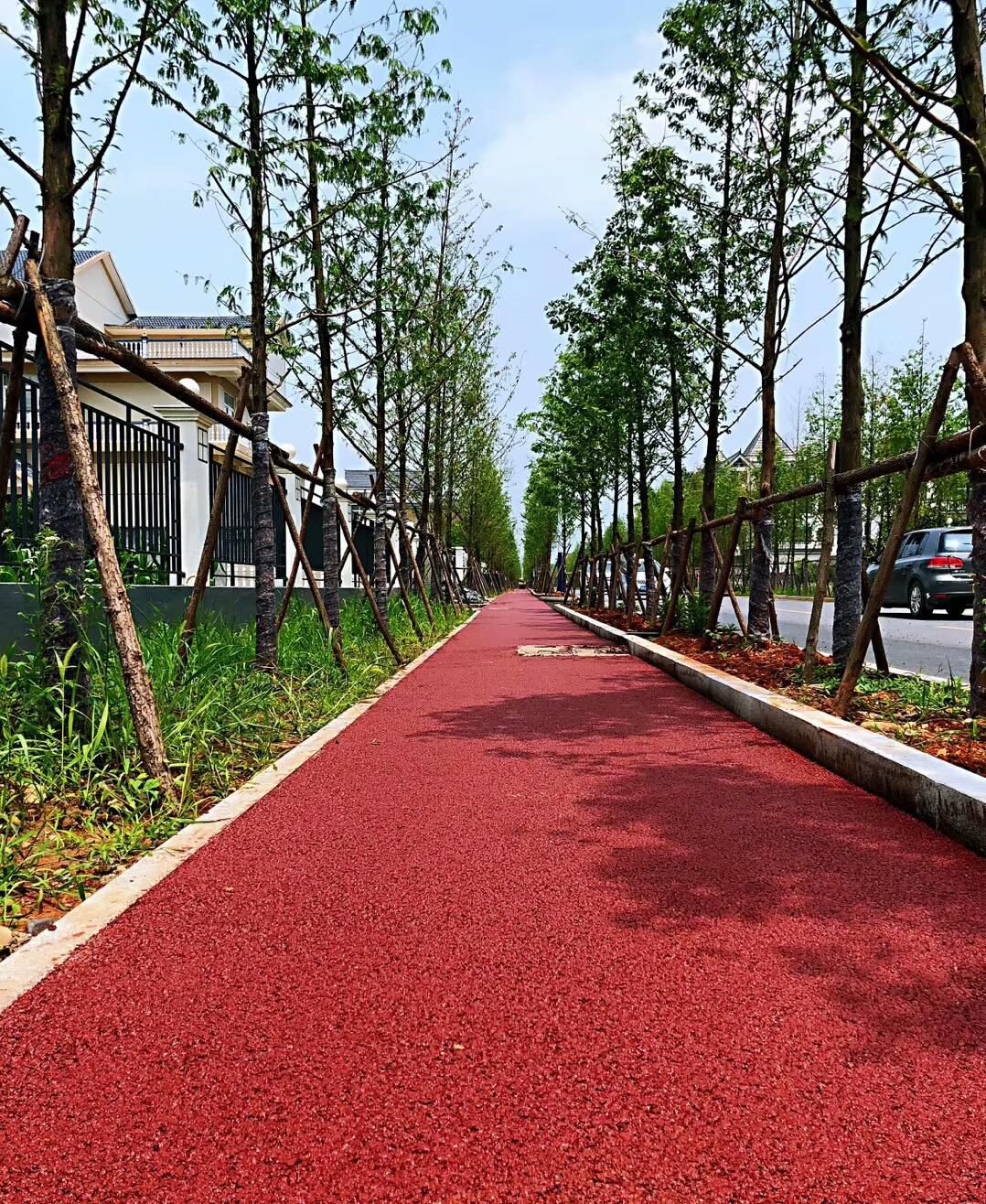 浙江绍兴市政景观步道