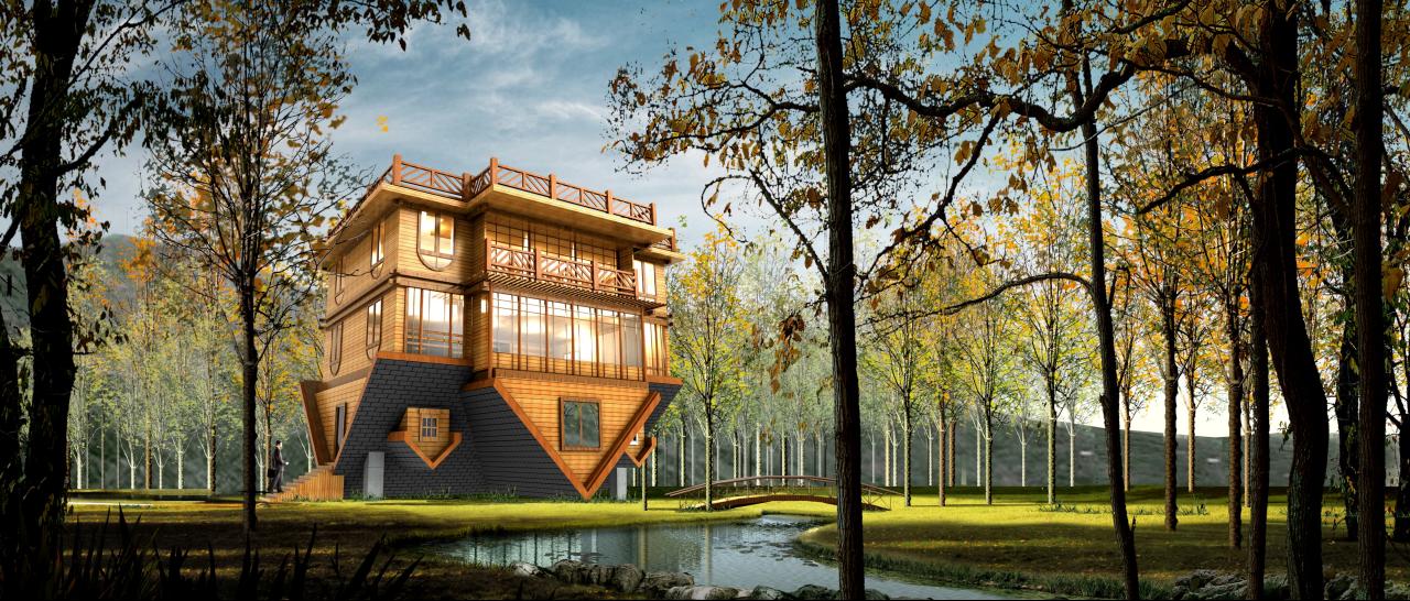 南北木结构设计