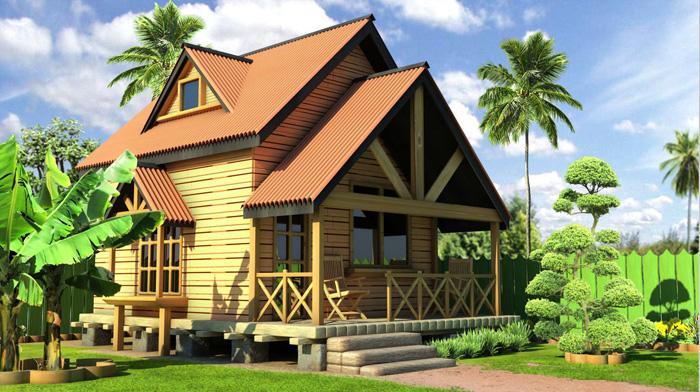 木屋别墅建造类型分为几种?