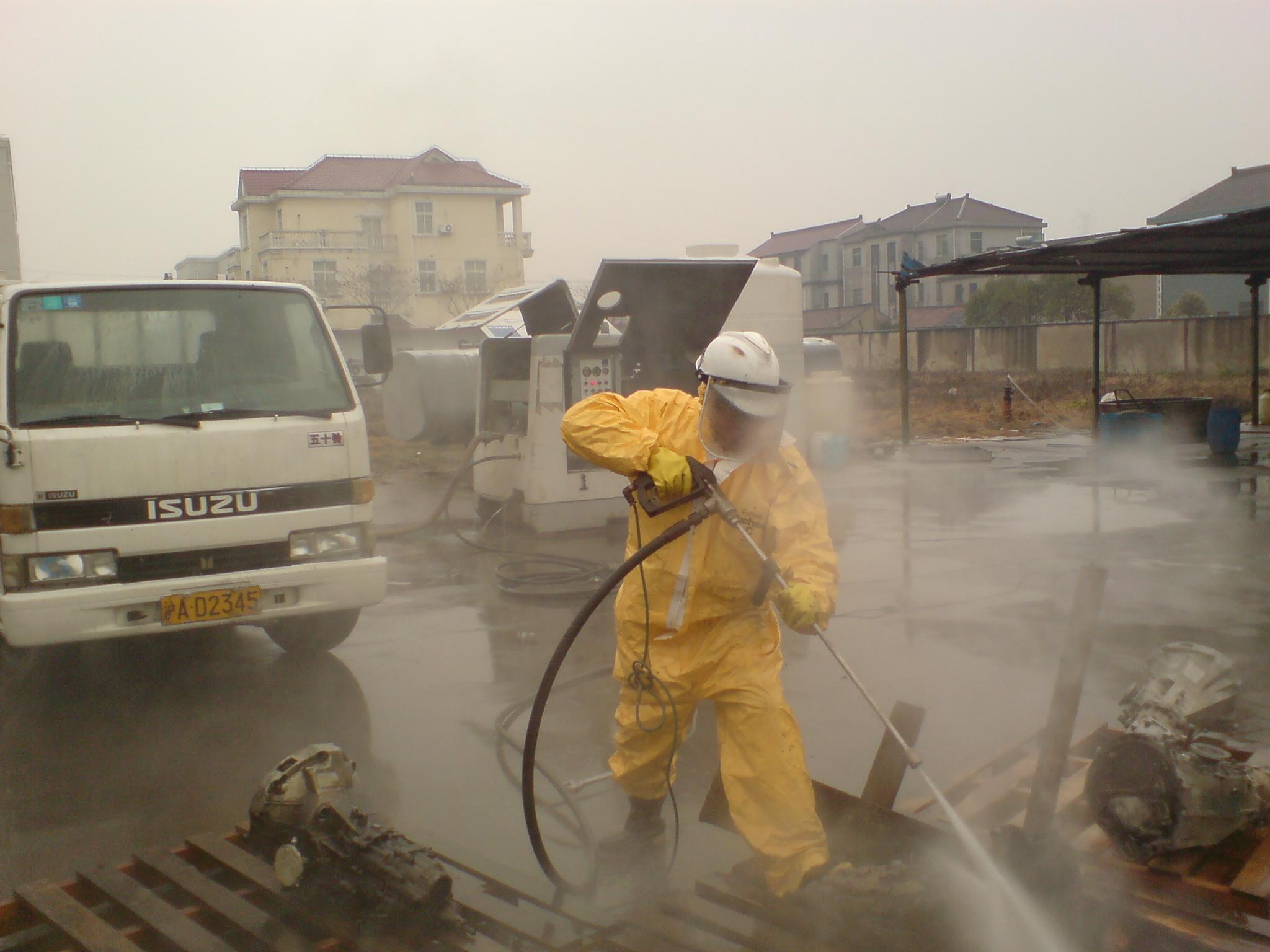 浙江衢州巨化集团设备清洗