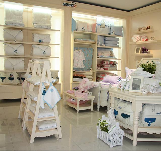 儿童家纺展柜设计