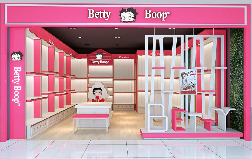 贝蒂箱包展柜制作