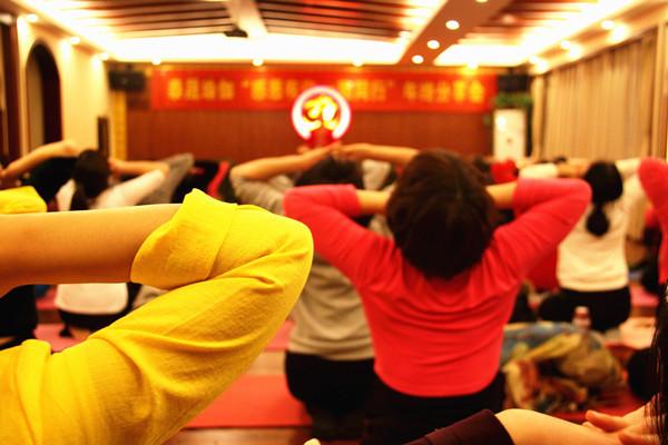 理疗瑜伽工作坊-郑州泰晟瑜伽研究院