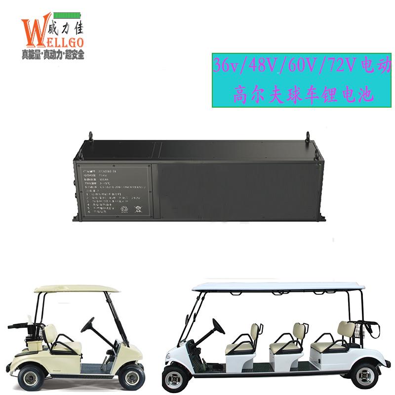 高尔夫球车锂电池