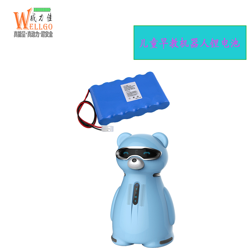 儿童早教机器人电池