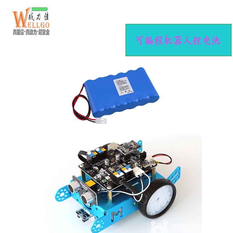 可编程机器人电池