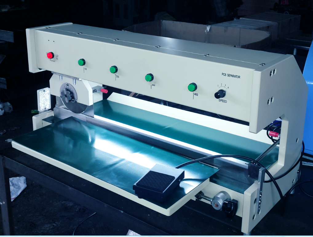 HC-500走刀式分板机.
