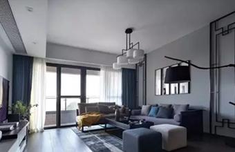 190m²清雅新中式,高雅舒适的暖心之家!