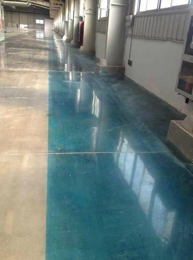 无机液态高渗透混凝土密封固化剂效果案例