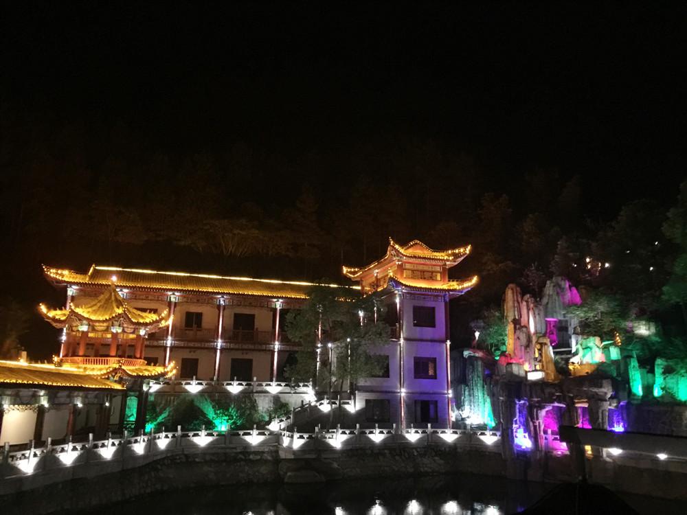 景德古鎮雙龍灣亮化工程