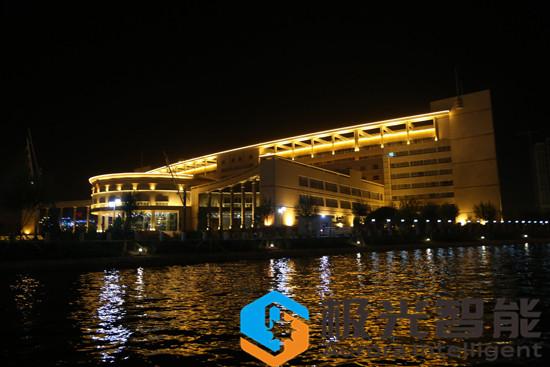 水韻梨城----庫爾勒香湖夜景照明