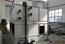 闭式冷却塔结构组成和工作原理