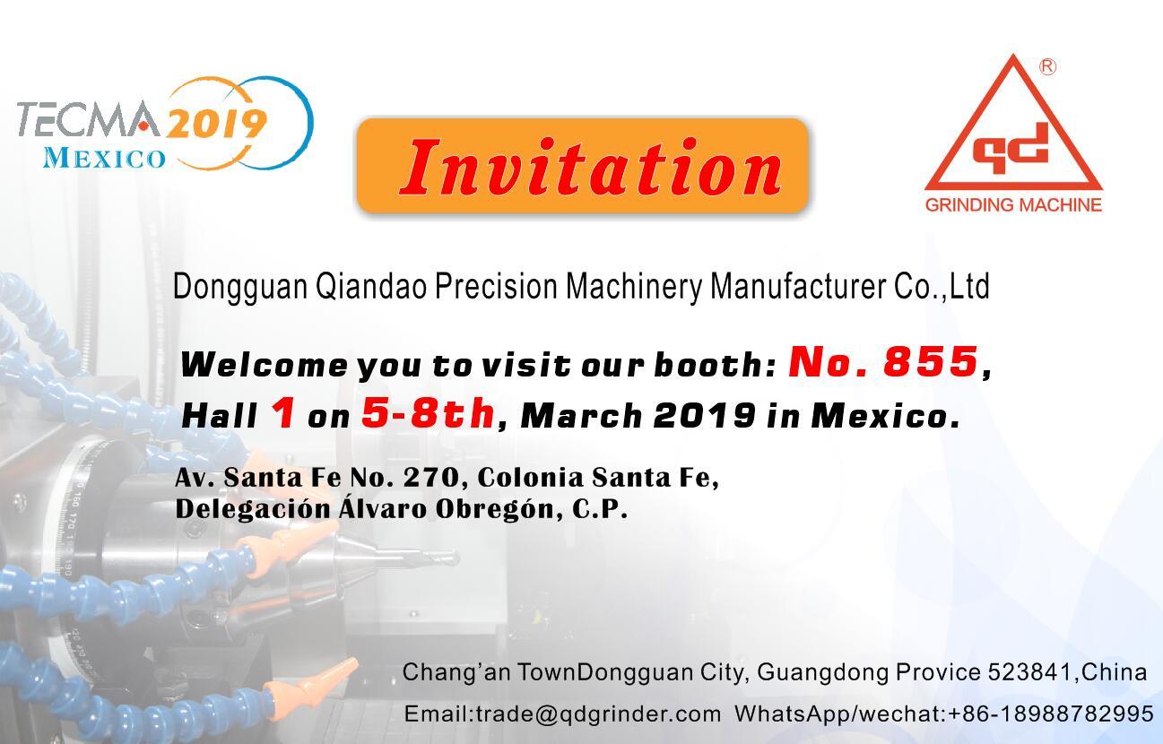 千島機械-2019年墨西哥國際機床展覽會TECMA