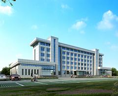 三土能源雄伟的办公大楼修建