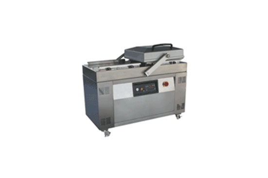 What are the steps of the vacuum packaging machine?