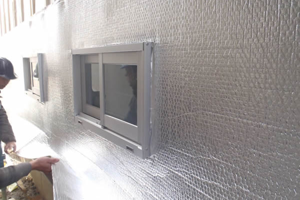 aluminum film foam Insulation sheet