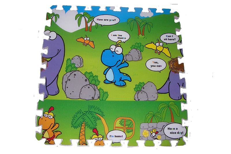 Children foam puzzle mat