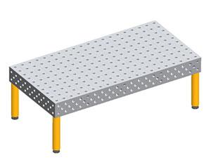 Three-dimensional flexible welding platform