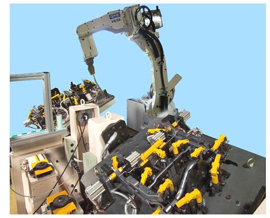 OTC robot welding system