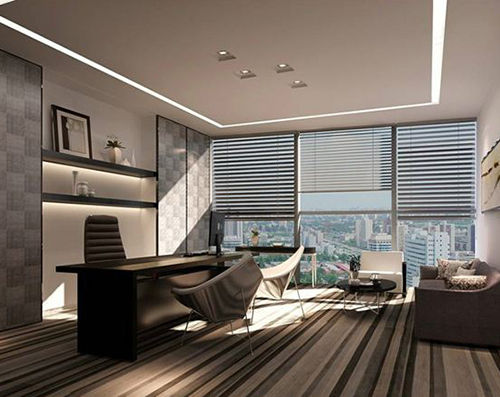 Space division and types in interior decoration design