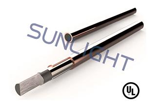 Varilla de acero unido con cobre