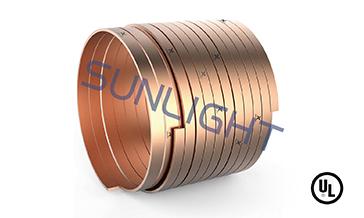 Kupfergebundene Stahlbandspule