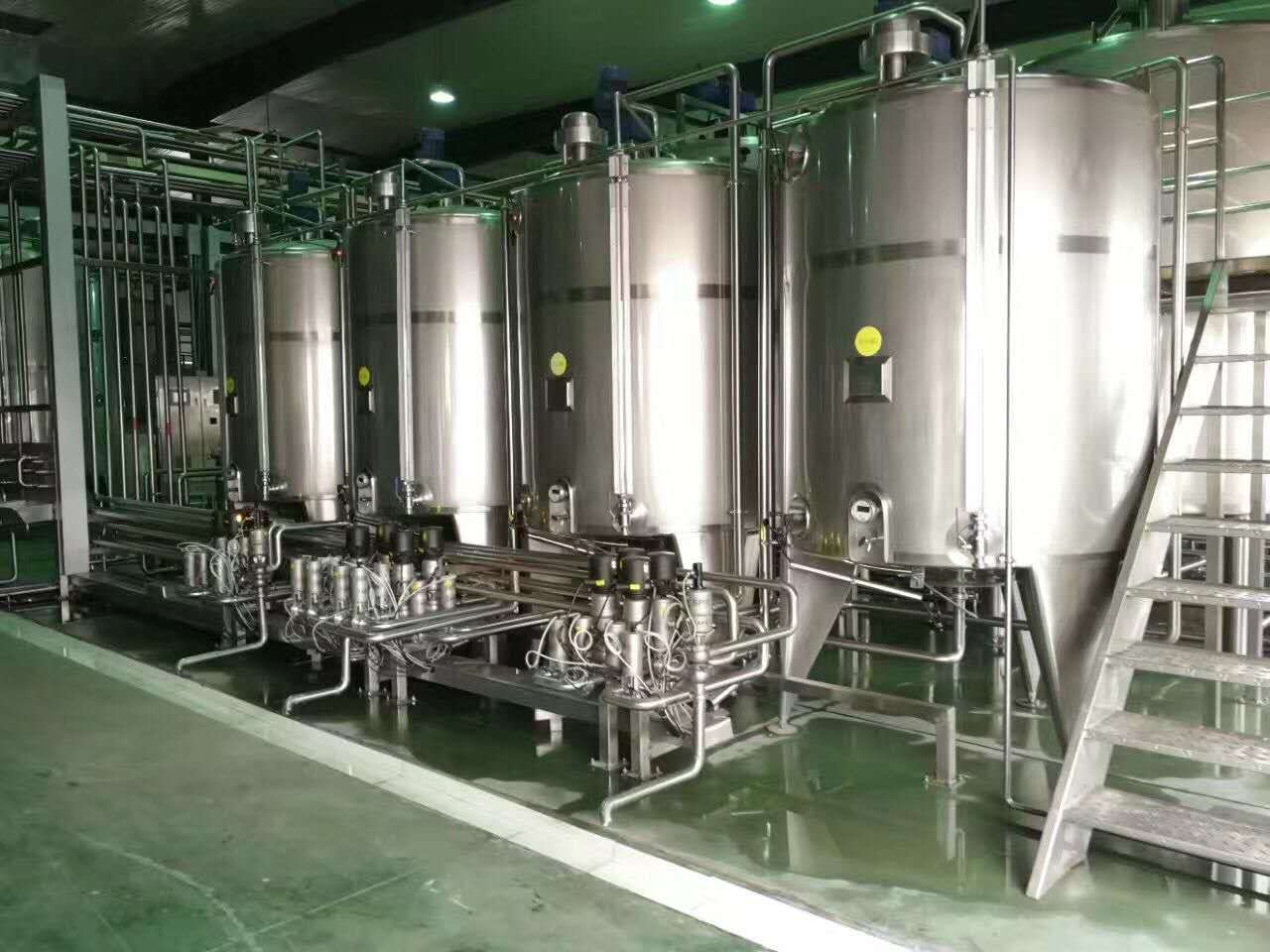 Milk pretreatment production line