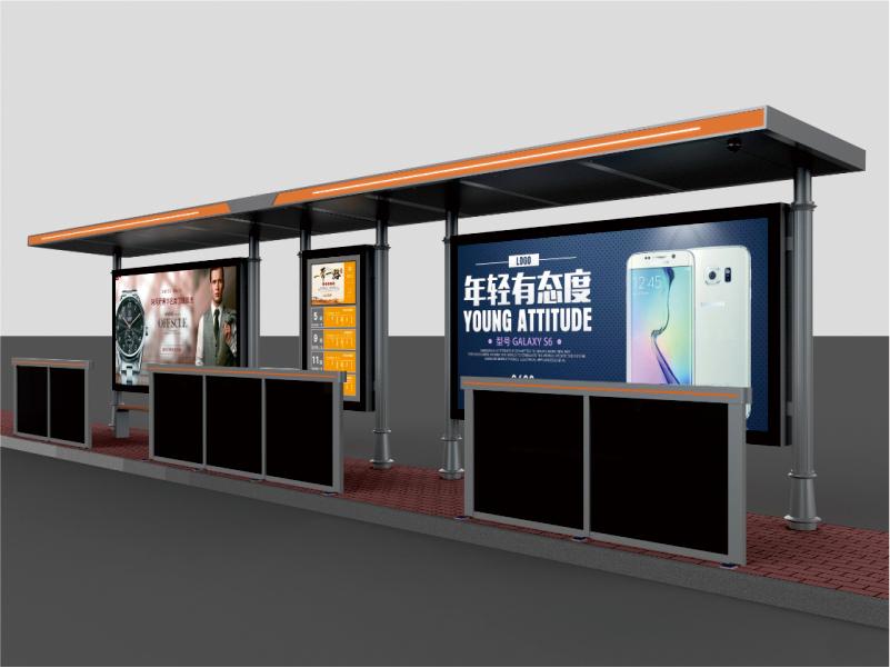 公交站台候车亭常规尺寸分类 让你快速了解公交站台候车亭