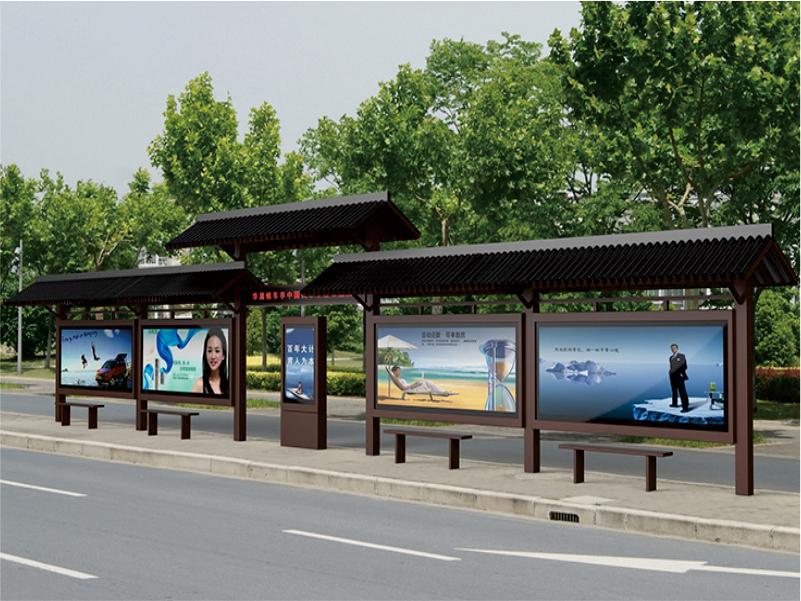 目前流行的古典公交候车亭有哪些类型?