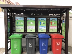 HF-008垃圾分类亭