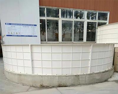 玻璃钢循环养鱼池