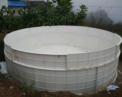 生态玻璃钢养鱼池