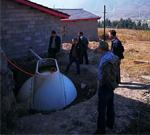 玻璃钢农村户用沼气池生产背景