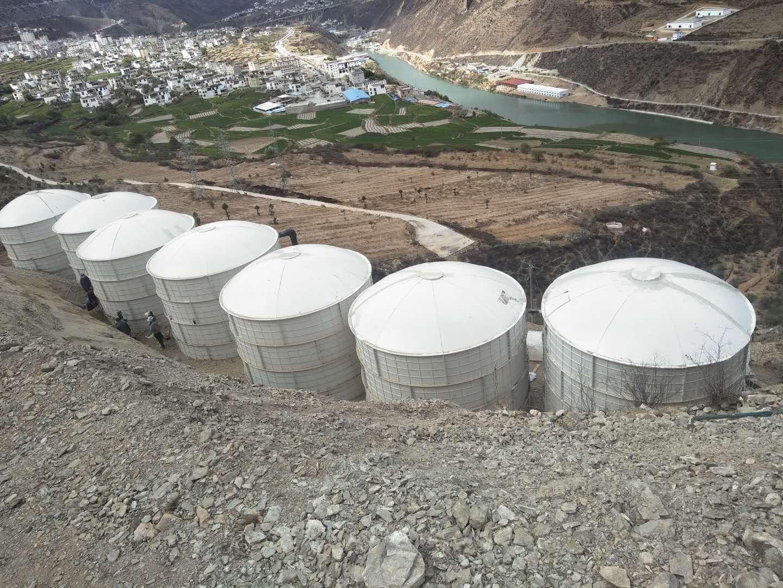成都玻璃钢水箱助力四川饮用水安全提升项目
