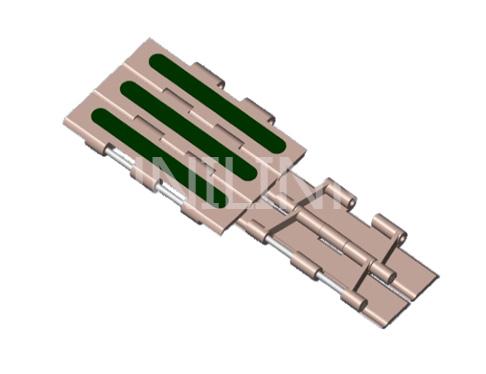 U821Z 双铰防滑塑料链板
