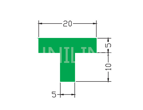 U268 T 型垫条
